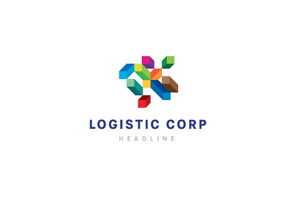 A company logo template.
