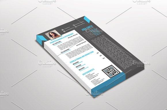 Arkino Resume Template Design