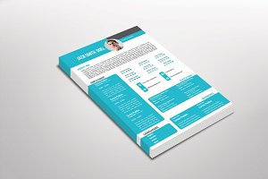 Anton Resume Template Design