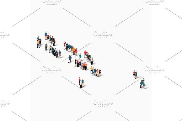 People Map Country Solomon Islands Vector