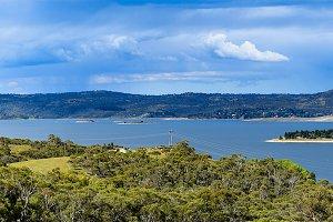 Lake & Mountains (panorama)
