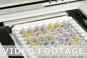 Bio lab medical clinic chemical automatic analyzer