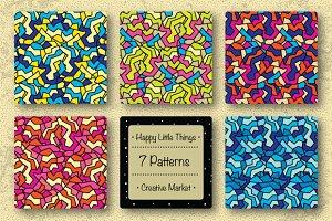 Crumpled Craft Paper (7 Patterns)