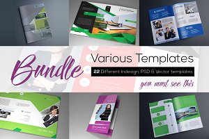 Print ready templates BUNDLE