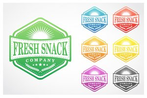 Fresh Snack Badge