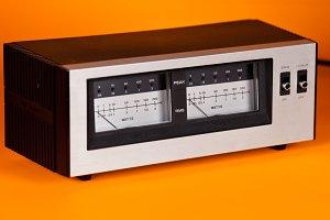Audio Power VU Meter