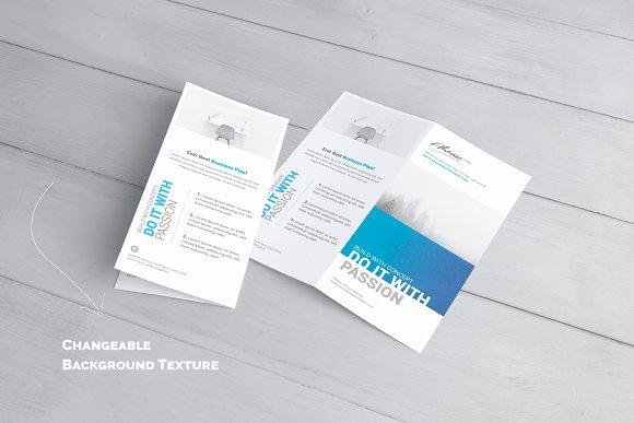 dl bifold brochure mock up product mockups creative market