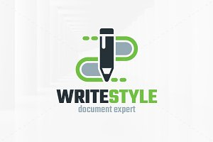 Write Style Logo Template