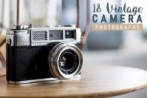 18 Vintage Camera Photographs