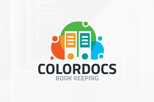 Color Documents Logo Template