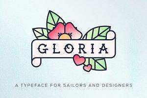 Gloria Typeface