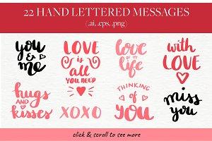 Love Letters - Hand Lettering Kit