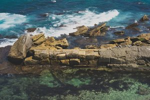 Coogee Beach Rocks