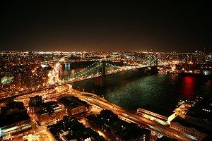 Brooklyn Bridge from above photo