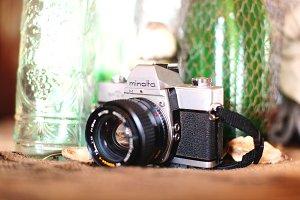 Minolta vintage camera