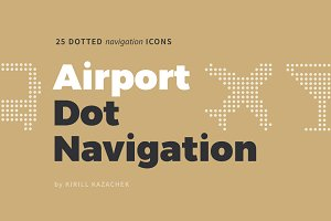 Airport Dot Navigation Icons