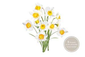 Daffodils Bouquets.