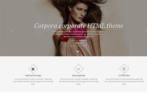 Corpora - Corporate HTML Template