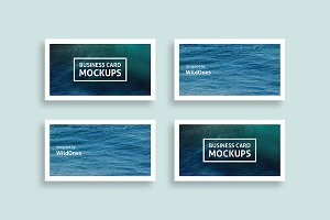 Simple Business Card Mockups