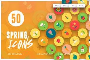 50 Spring Icons Vol.3