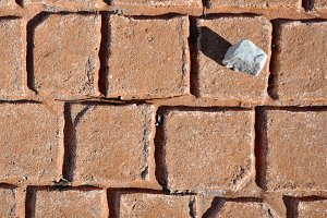 Concrete printed on pavement