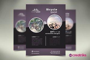 Bicycle Shop Flyer