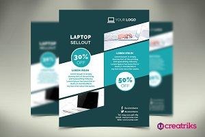 Laptop Shop Flyer