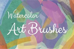 Watercolor Illustrator Art Brushes