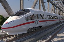 High-speed Train ICE 3 Siemens by  in Vehicles