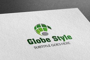 Globe Style Logo