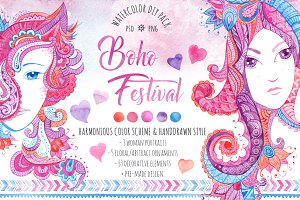 ♥Boho Festival♥ DIY Pack