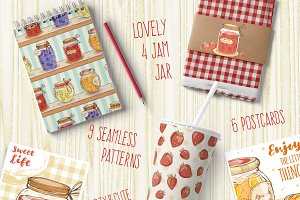 • Cute jam collection •