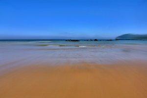 Calm sea from the beach
