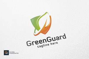 Green Guard - Logo Template