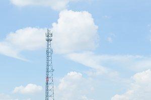 Antenna system, signal phone