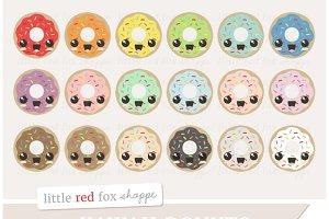 Kawaii Donut Clipart