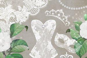 Bridal Debutante Clipart