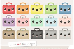 Kawaii Lunch Box Clipart