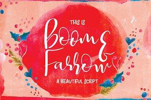 Boom & Farrow Script Font