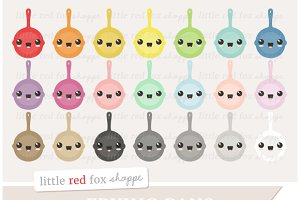 Kawaii Frying Pan Clipart