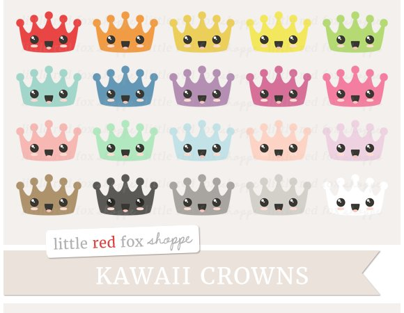 Kawaii Crown Clipart