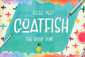 Goatfish Display Font