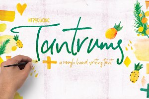Tantrums Hand Writing Font