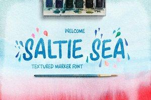 Saltie Sea Digital Font