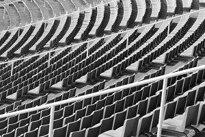 Abstract stadium