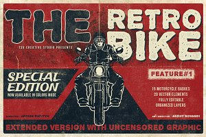 The Retro Bike + 20 Bonus