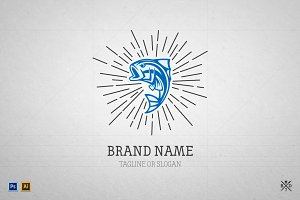 Logo Template #5 - Big Fish