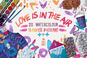 Love Is In The Air, Pattern Pack