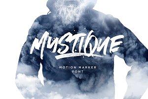 Mystique Marker Font