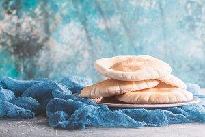 Pita or Arabic bread